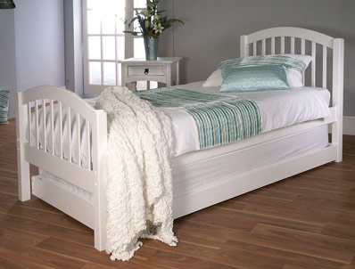 Limelight Despina White Painted Guest Bed Frame