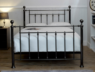 Limelight Libra Black Chrome Effect Bed Frame