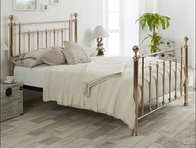 Limelight Libra Rose Gold Bed Frame
