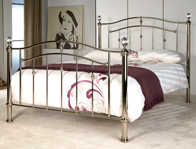 Limelight Lyra Chrome Finish Bed Frame