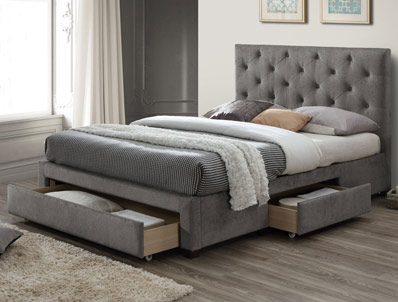 Limelight Monet Grey Marl Bed Frame