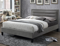 Limelight Picasso Grey Fabric Bed Frame