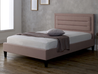Limelight Picasso Pink or Blue Fabric Bed Frame