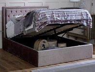 Limelight Rhea Silver or Mink Ottoman Bed Frame