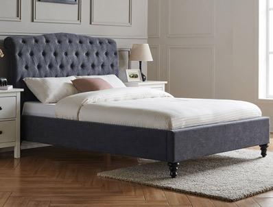 Limelight Rosa Dark Grey Bed Frame