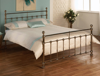Limelight Tarvos Victorian Brass Double Bed Frame Only