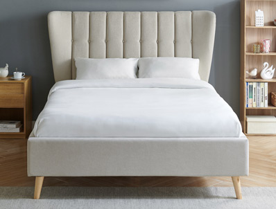 Limelight Tasya Natural Fabric Bed Frame