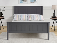 Limelight Taurus Dark Grey High Foot End Wooden Bed Frame