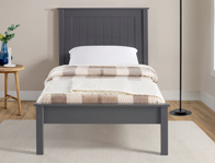 Limelight Taurus Dark Grey Low Foot End Wooden Bed Frame