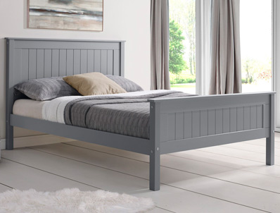 Limelight Taurus Grey  High  Footend Bed Frame