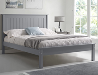 Limelight Taurus Grey Low Foot End Bed Frame