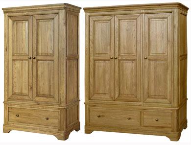 Loire Oak Wardrobes