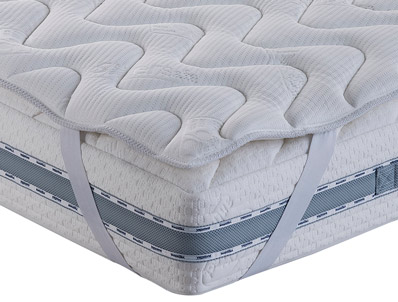 Magniflex New Perfect Comfort Luxury Silk Silver Topper