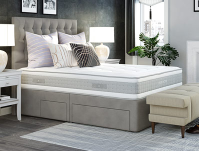 Mammoth Performance Pocket 1600 Divan Bed Buy Online At Bestpricebeds
