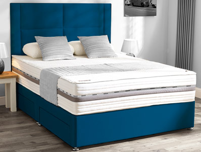 Mammoth Prestige Pocket 3000 F/Edge Divan Bed