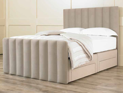 Matza Milan Fabric Bed Base