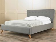 Matza Veneto Retro Fabric Bed Frame