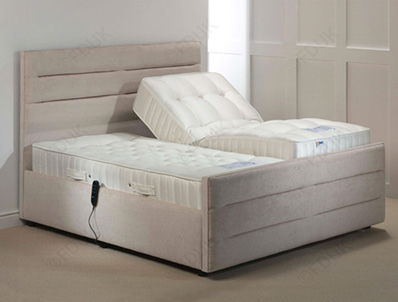 Mi Beds Bonny 1200 Pocket & Latex Tufted Adjustable Bed