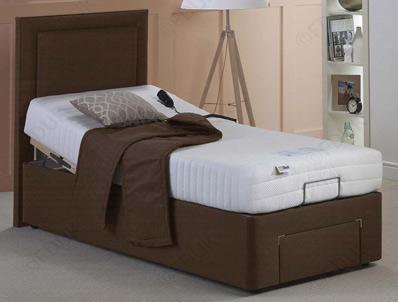 Mi Beds Foam & Memory Adjustable Bed