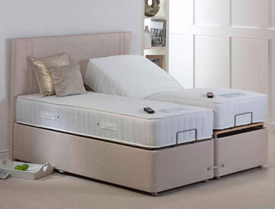 Mi Beds Harper 1200 Pocket & Latex Adjustable Bed