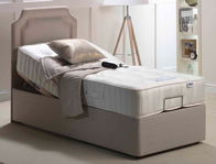 Mi Beds Polly 1200 Pocket & Natural Adjustable Bed