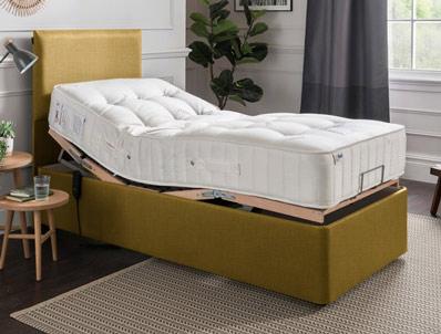 Mi Beds Polly 2150 Pocket & Natural Adjustable Bed