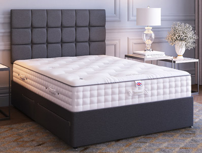 Millbrook Cotton 1700 Pocket Divan bed