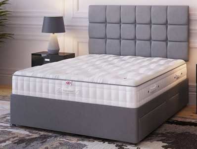 Millbrook Natural Ortho 1400 Pocket Divan bed
