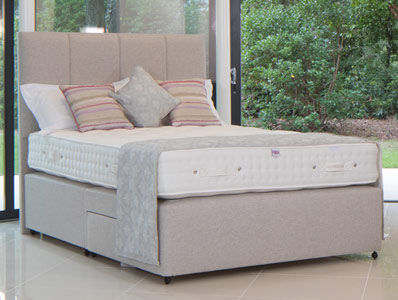 Millbrook Romney Wool 1700 Pocket Spring Bed