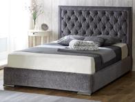 Monza Italia Messina Fabric Bed Frame