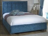 Monza Italia Naples Fabric Bed Frame