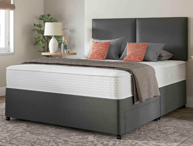 Myers supreme comfort 1000 pocket divan bed buy online for Myers divan beds