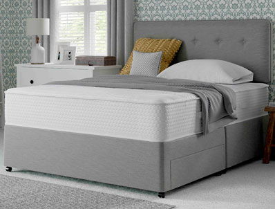 Myers supreme memory comfort 1400 pocket divan bed buy for Myers divan beds
