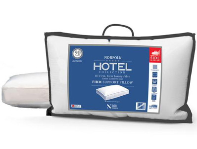 Norfolk Hotel Collection Firm Support Side Sleeper Pillow