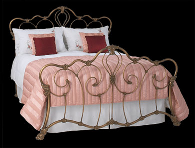 Obc Athalone Cast Metal Bed Frame