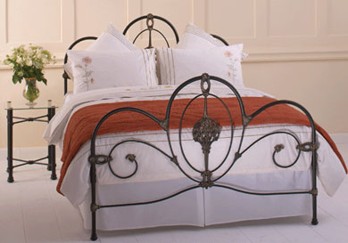Obc Ballina Cast Metal Bed Frame
