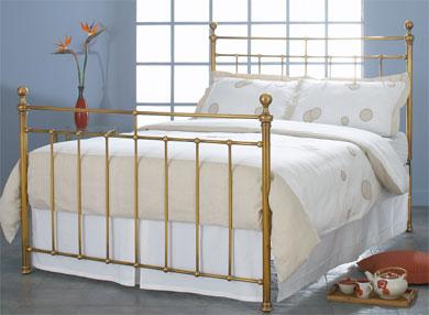 Obc Blyth Brass Bed Frame