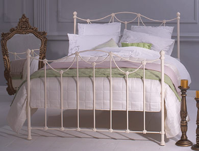 Obc Carie Cast Metal Bed Frame