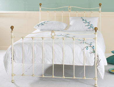 Obc Tulsk Cast Metal Bed Frame ( High End) One Only