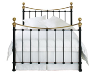 OBC Tulsk Cast Steel Black Headboard One Only