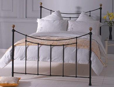 Obc Virginia Cast Metal Bed Frame