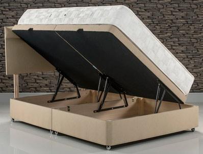 old english bed company malvern side open ottoman base. Black Bedroom Furniture Sets. Home Design Ideas