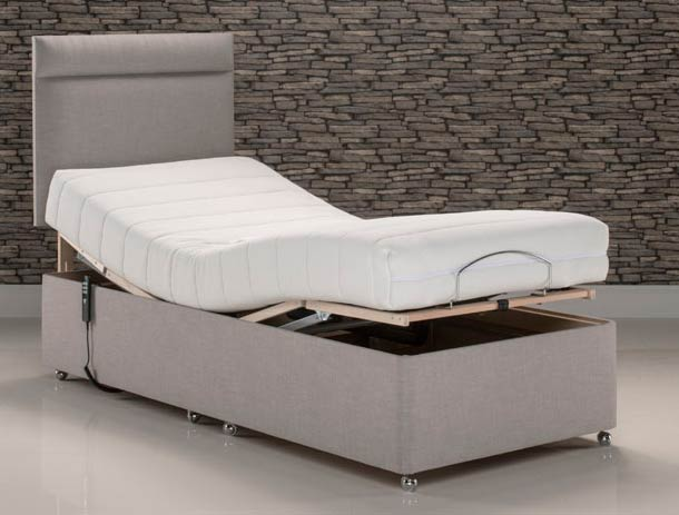 Old English Bed Company Ritz Memory Foam   Adjustable Bed
