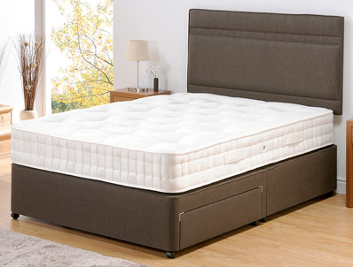 Old English Bed Company Wool Luxury 1400 Divan Set