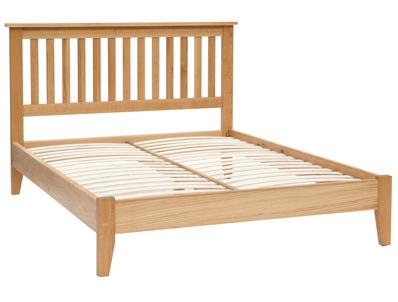 Originals Normandy Distressed Oak Bed Frame