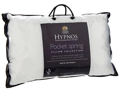 Hypnos Reactive Pocket Spring Pillow Pair