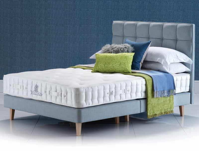 Hypnos hazel deluxe divan bed buy online at bestpricebeds for Best value divan beds