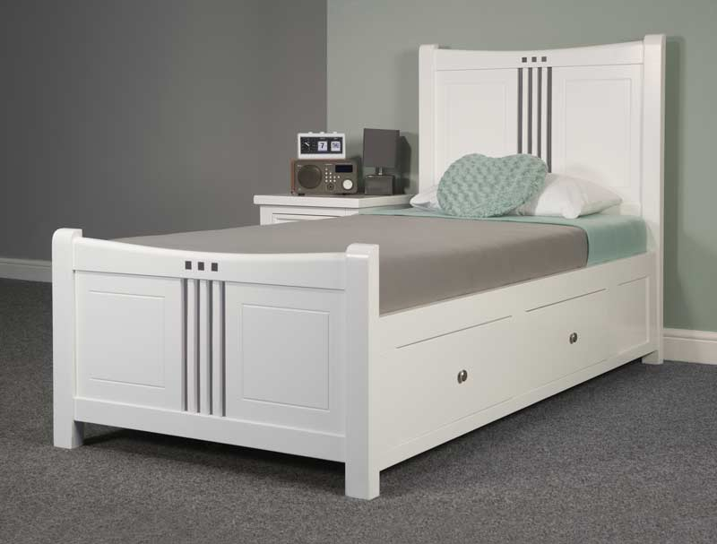 Sweet Dreams Louis Painted Wood Bed Frame - Buy Online at BestPriceBeds