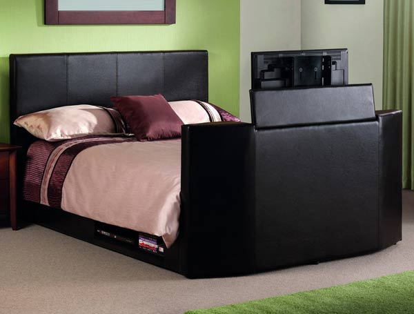 Julian Bowen Optika Tv Bed Frame Buy Online At Bestpricebeds