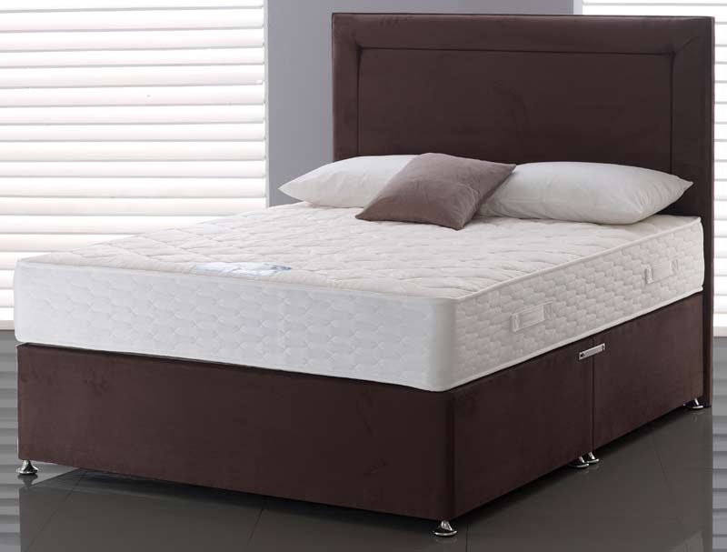 Highgrove naples ortho firm divan buy online at for Firm divan beds